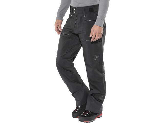 Norrøna Lofoten Gore-Tex Pro Light Pantalones Hombre, caviar